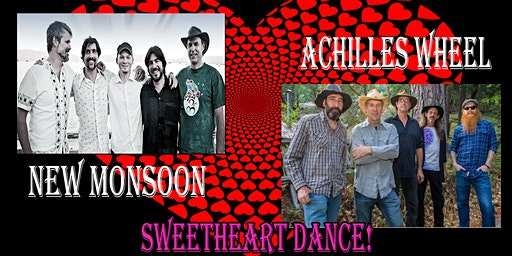 NEW MONSOON & ACHILLES WHEEL SWEETHEART DANCE - LIVE IN AUBURN!