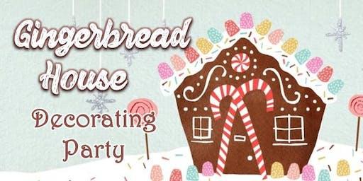 Teacher Party: Gingerbread House Decorating Bonanza!