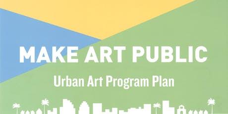 Urban Art Program Plan – Community Update Meeting tickets
