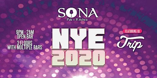 NYE 2020 at SONA Manayunk