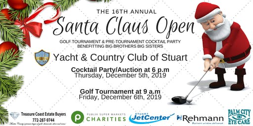The 16th Annual Santa Claus Open Golf Tournament