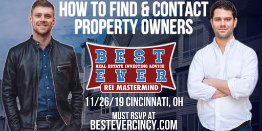 How To Find & Contact Property Owners | Cincinnati's Best Ever Mastermind
