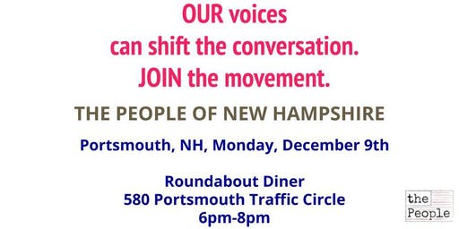 The People of New Hampshire - Portsmouth Kick-off Event
