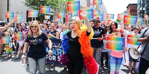 LGBTQ+ For Warren Happy Hour