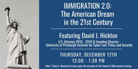Immigration 2.0: The American Dream in the 21st Century tickets
