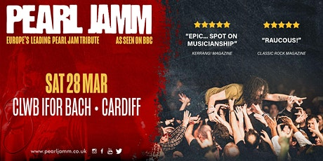 Pearl Jamm live at Clwb Ifor Bach tickets