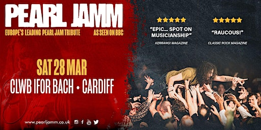 Pearl Jamm live at Clwb Ifor Bach