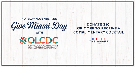 Give Miami Day Happy Hour tickets