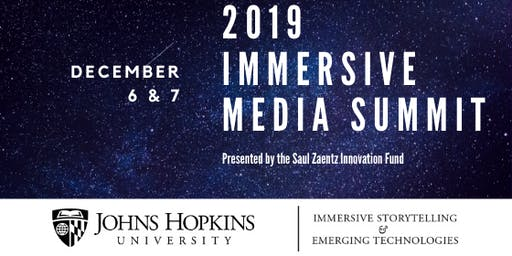 Johns Hopkins University ISET Third Annual Immersive Media Summit