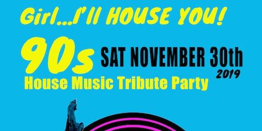 Girl... I'll House You! 90's House Tribute   DJ Spun, Steve Fabus, DJ M3