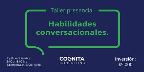 Taller de Habilidades Conversacionales boletos