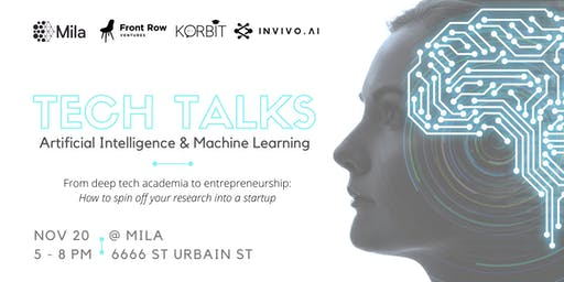 Mila x FRV: Tech Talks - Artificial Intelligence and Machine Learning