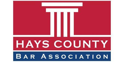 Hays County Bench Bar Conference  - Spring 2020