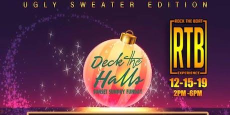 RTB - DECK THE HALLS: SUNSET CRUISE tickets