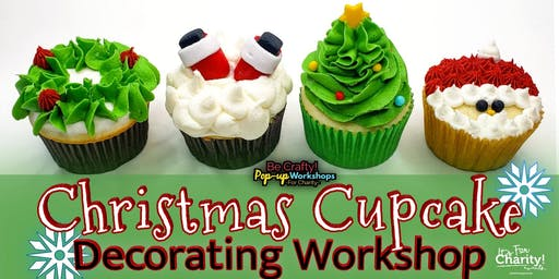 Be Crafty! Pop-up: Christmas Cupcake Decorating Workshop at Armadillo Ale Works