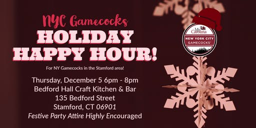 NYC Gamecocks - CT/Westchester Holiday Happy Hour!