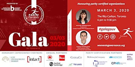 Women in Governance's Annual Recognition Gala 2020 / Gala de reconnaissance annuel de La Gouvernance au Féminin 2020 tickets