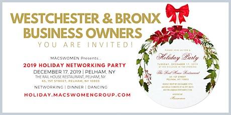 MACsWomen Holiday Networking Party - Westchester New York - Pelham  tickets