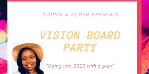 Young&Saved Vision Board Party