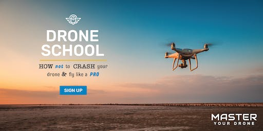 How NOT to CRASH Your DRONE and fly like a PRO Flight School