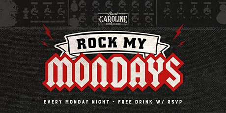 Rock My Mondays - Rock Karaoke at Sweet Caroline! tickets