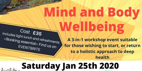 Pathways into Mind and Body Wellbeing tickets