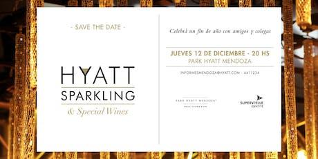 Hyatt Sparkling & Special Wines entradas