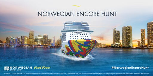 Norwegian Encore Scavenger Hunt - Miami