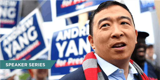 "Live Taping of ""The Axe Files"" with Presidential Candidate Andrew Yang"