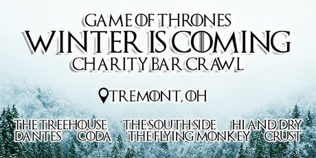 Game of Thrones: Winter is Coming Charity Bar Crawl tickets