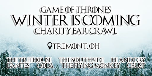 Game of Thrones: Winter is Coming Charity Bar Crawl