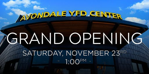 Avondale YFD Grand Opening