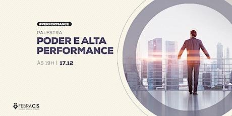 [POA] Palestra Poder e Alta Performance 17/12/2019 tickets
