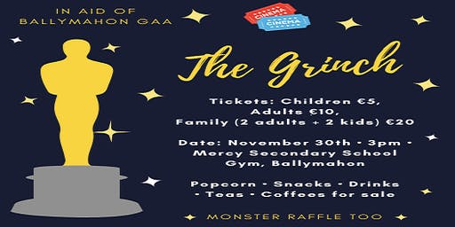 """""""The Grinch"""" by pedal powered cinema - presented by Ballymahon GAA"""