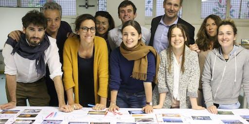 Formation à l'animation La Fresque du Climat à Aix avec Eliane Mathias