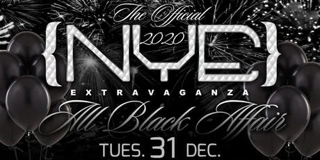 The Annual & Official NYE Extravaganza- The All Black Affair tickets