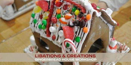 Libations & Creations :: Gingerbread Workshop tickets