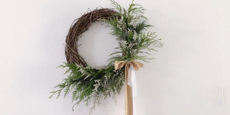 West Elm Holiday Wreathe with Olive and Blooms tickets