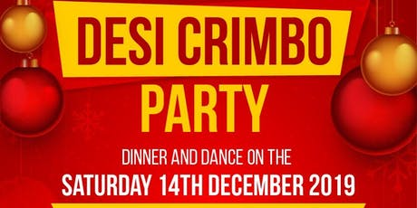 DESI CRIMBO  PARTY -Saturday 14th December 2019 - Punjabi MC, Hype Man HMC tickets