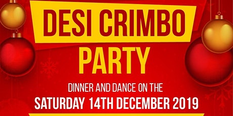 DESI CRIMBO  PARTY -Saturday 14th December 2019 - Punjabi MC, Hype Man HMC tickets