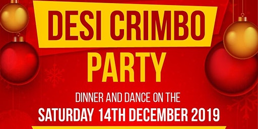 DESI CRIMBO  PARTY -Saturday 14th December 2019 - Punjabi MC, Hype Man HMC