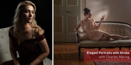 Elegant Portraits with Strobe with Charles Maring