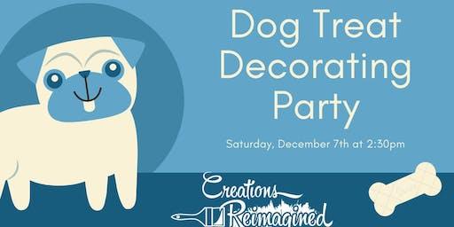 Dog Treat Decorating Party