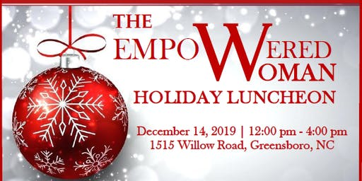 HOLIDAY LUNCHEON FOR WOMEN