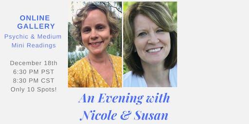 Mediumship & Intuitive Mini Online Readings with Nicole & Susan