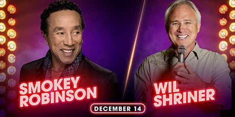 Smokey Robinson with Special Guest Comedian Wil Shriner tickets