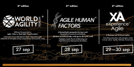 eXperience Agile Week 2020 tickets