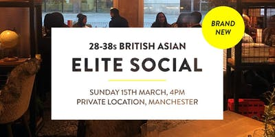 Elite British Asian Meet and Mingle Social Evening - 28-38s | Manchester