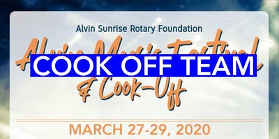Alvin Music Fest 2020 Cook Off Team