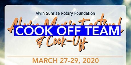 Alvin Music Fest 2020 Cook Off Team tickets
